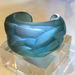 One of a kind Angelo Tarlazzi Resin Cuff/ Bracelet